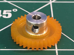 S & K  64 Pitch 35 Tooth 3/32 axle spur gear from Mid America Raceway Naperville