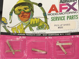ORIGINAL AURORA AFX MODEL MOTORING SERVICE PARTS PICK-OP SHOES 8521