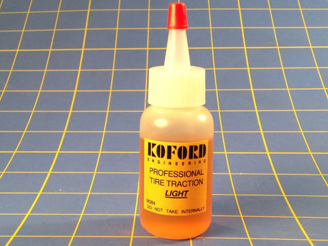 KOFORD Light Viscosity Glue Tire Traction Compound 1/24 slot car Mid America