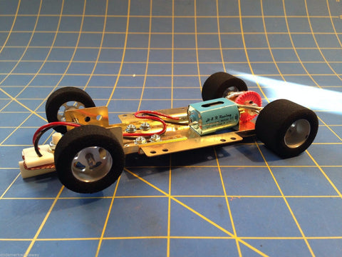 H&R CH04  Hard Body RTR Chassis 1/24 Slot Car  from Mid America Raceway