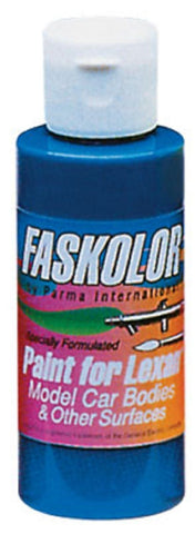 Parma Faskolor FASBLUE #40004 Airbrush Paint Slot Car 1/24 Mid-America