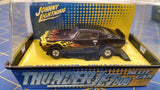 Johnny Lightning Chevy Camero Black w/ flames HO AML Naperville