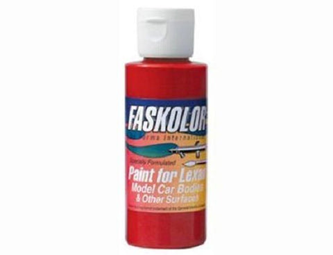 Parma Faskolor FASLUCENT RED #40307 Airbrush Paint Slot Car 1/24 Mid-America