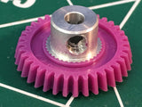 15° Angled Cahoza 64 Pitch 36 Tooth Spur Gear from MidAmerica Raceway Naperville