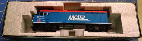 KATO HO Scale 37-6572 Chicago Metra Village of Winfield 160 LOCOMOTIVE Mid Ameri