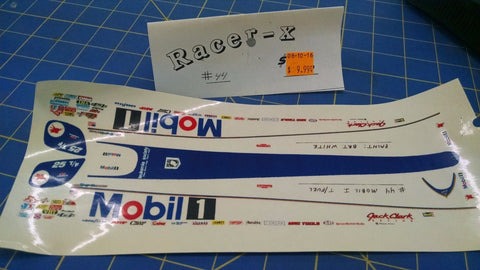 Racer-X #44 Mobil 1 Decal from Mid-America Naperville
