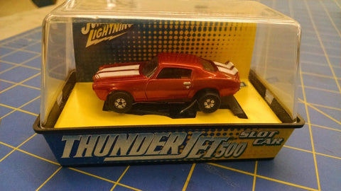 Johnny Lightning Chevy Camaro Rust w/ White stripes HO AML MidAmerica Naperville