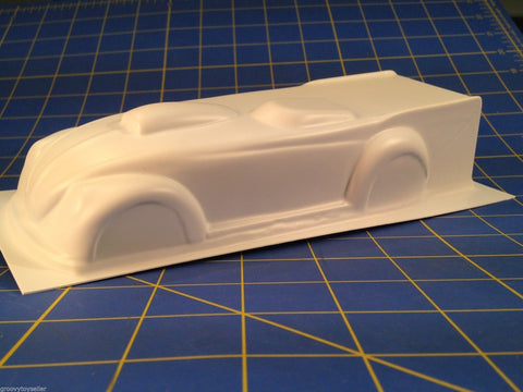 JDS 3019S VW S/G Roadster Styrene 1/24 slot car from Mid America Raceway