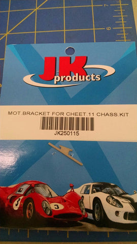 JK 250115 Mot Bracket For Cheet 11 Chassis Kit one per Mid America Naperville