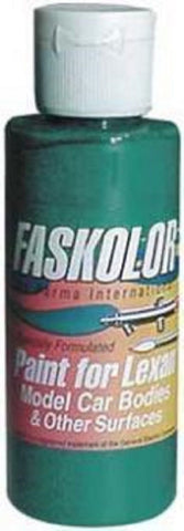 Parma Faskolor FASPEARL GREEN #40052 Airbrush Paint Slot Car 1/24 Mid-America