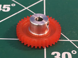 S & K  64 Pitch 36 Tooth 3/32 axle spur gear from Mid America Raceway Naperville