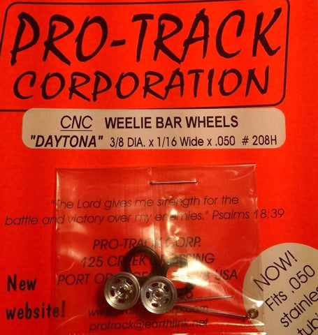 Pro-Track #208H Weelie Bar Wheels Daytona from Mid-America Naperville