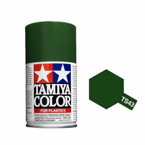 Tamiya TS-43 RACING GREEN Spray Paint Can 3 oz 100ml 85043 MidAmerica Naperville