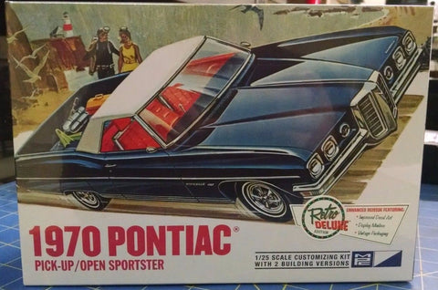 MPC 840 70 Pontiac Pick Up/Open Sportster 1/25 Model Kit Mid-America Naperville