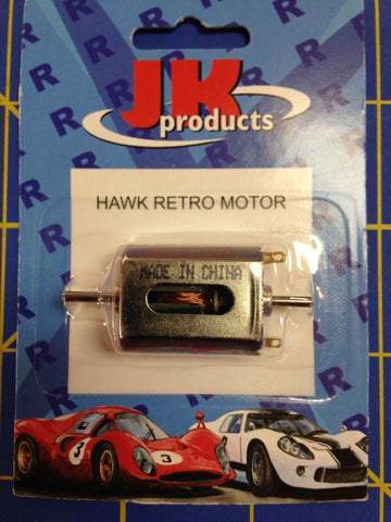 JK Retro Hawk FK Motor  IRRA Legal JKHR 1/24 slot car from Mid America Raceway