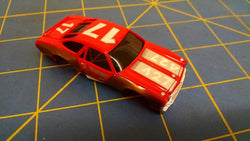 Red/Gold 70 Stock Car American Line Body HO Mid America AML B453-R