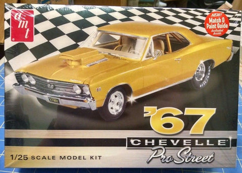AMT 876 '67 Chevelle Pro Street Model Kit Mid America