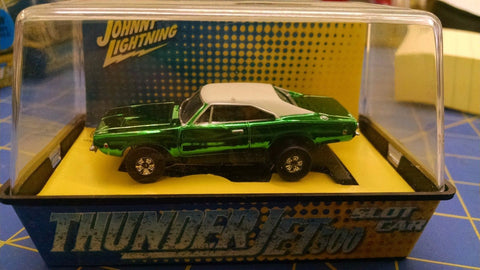 Johnny Lightning Dodge Charger Candy Green HO AML Mid-America Naperville