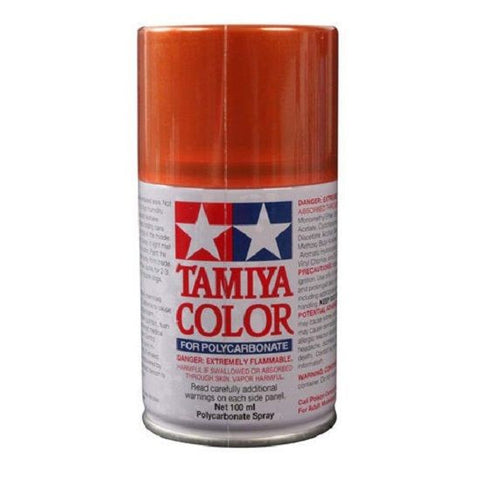 Tamiya PS-61 Metallic Orange Polycarbonate Spray Paint Mid-America Naperville