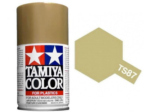 Tamiya TS-87 Titanium Gold Spray Paint Can 3 oz 100ml Mid America