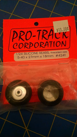 Pro-Track 424T Silicone Rears 5-40x27mmx18mm From Mid America Naperville