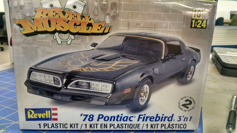 Revell Muscle '78 Pontiac Firebird 3'n1 Model Kit -Mid-America Naperville