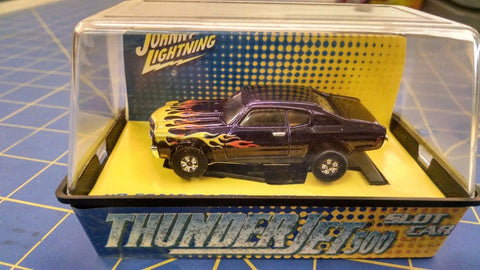 Johnny Lightning Chevy Chevelle Purple w/ flames HO AML Naperville