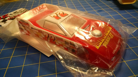 "JK Custom Painted 4 1/2"" Dirt Late 1/24 slot car body Mid America"