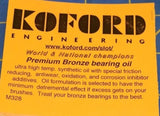 Koford M328 Premium Bronze Bearing Oil Slot Car 1/24 Mid-America Naperville