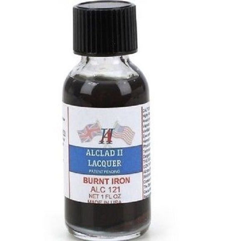 Alclad II Burnt Iron 1oz (for Plastic Kits) ALC121 Mid America Naperville
