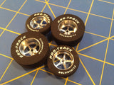 Pro Track Pro Stars 1 3/16 x 300 Rear & Front Foam 1 inch Drag Tires Mid America