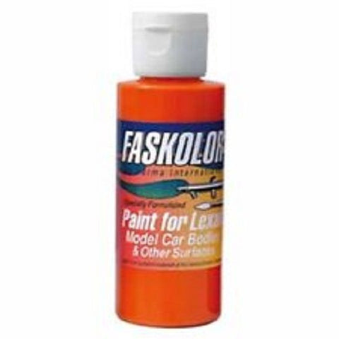 Parma Faskolor FASLUCENT ORANGE #40309 Airbrush Paint Slot Car 1/24 Mid-America