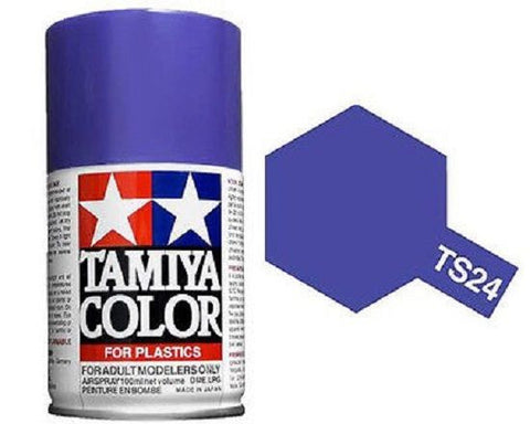 Tamiya TS-24 PURPLE Spray Paint Can 3 oz 100ml 85024 Mid-America Naperville
