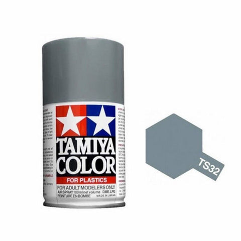 Tamiya TS-32 Haze Grey Spray Paint Can 3 oz 100ml 85032 Mid-America Naperville