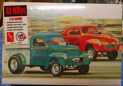 AMT 818 '40 Willys Coupe/Pickup Model Kit Mid America