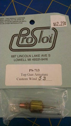 ProSlot PS-713 Top Gun Armature Custom Wind 33 from Mid America Naperville
