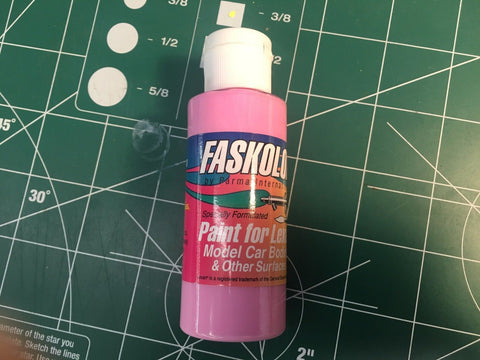 Parma Faskolor FASPINK #40009 Airbrush Paint Slot Car 1/24 Mid-America