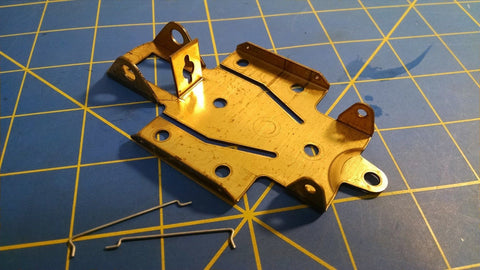 Riggen 5003 Brass Inline Chassis 1/32 from Mid America Naperville