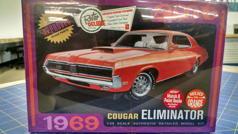 AMT 1969 Cougar Eliminator Molded in Orange -Mid-America Naperville