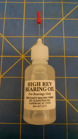 High Rev Bearing Oil 1/24 slot car Mid America