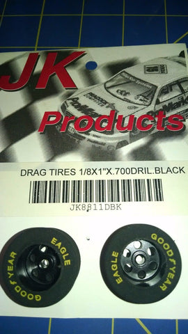 "JK 8811DBK 1/8x1""x.700 Drilled Black from Mid-America Naperville"