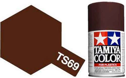 Tamiya TS-69 Linoleum Deck Brown Spray Paint Can 3 oz 100ml 85069 Naperville