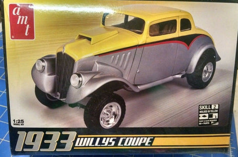 AMT 639 1933 Willys Coupe  Model Kit Mid America