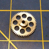 Mid America Extra Light 64 pitch 50 tooth 3/32 Spur Gears 1/24 slot Naperville