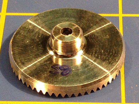 Sonic 3/32 axle 64 Pitch 58 Tooth Aluminum Drag Crown Gear Mid America Raceway