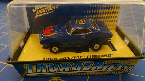 Johnny Lightning 68' Pontiac Firebird Blue #2  HO AML Naperville