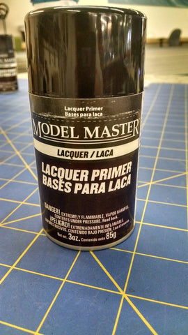 Testors 2981 Model Master Gray Primer Spray Paint 3oz Mid America Nape