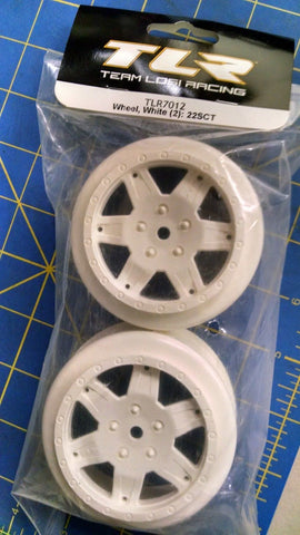 TLR 7012 Wheel White (2): 22SCT from Mid-America Naperville