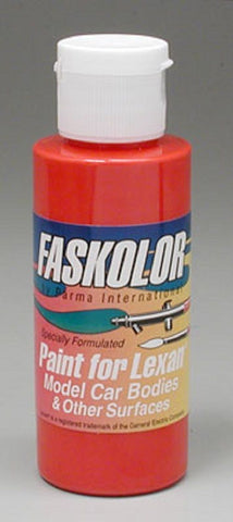 Parma Faskolor FASRED #40003 Airbrush Paint Slot Car 1/24 Mid-America
