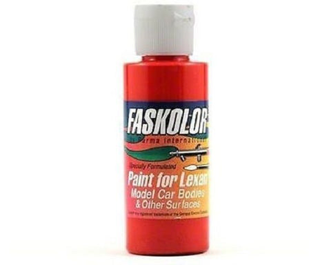 Parma Faskolor FASPEARL RED #40056 Airbrush Paint Slot Car 1/24 Mid-America